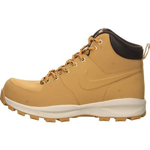Nike 454350 700 Manoa Leather Herren Sportschuhe/Wandern Mehrfarbig (Haystack/Haystack-Velvet Brown) 43