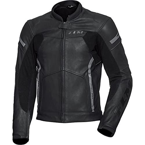 FLM Kombijacke Lederkombi Motorradjacke m. Protektoren Sports Leder Kombijacke 4.0 schwarz 52, Herren, Sportler, Ganzjährig