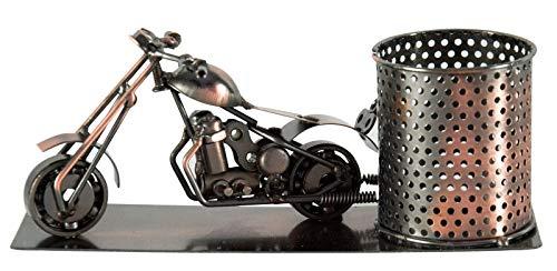 Stiftehalter / Flaschenhalter Motorrad - Männergeschenk für Motorradfahrer