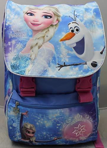Disney Zaino Scuola Estensibile Frozen Elsa e Olaf