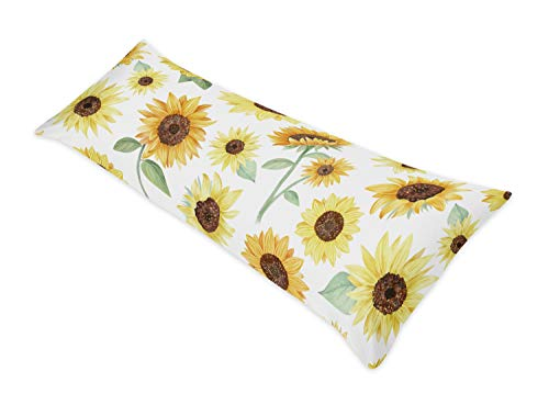Sweet Jojo Designs Yellow, Green and White Sunflower Boho...
