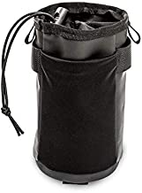 AUTOWT Bike Handlebar Insulated Stem Bag, Bicycle Water Bottle Holder Bag No Screws 4 Fastener Straps Cycling Frame Waterproof Storage bag With Shoulder Strap for All Bikes Daily Use Touring Commuting