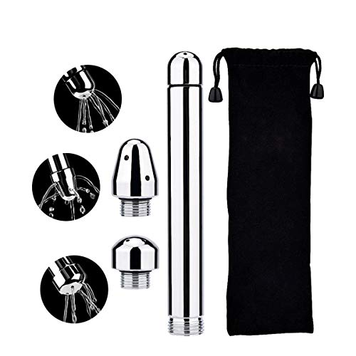 BIGMALL Metall-Einlauf-Duschköpfe, Dusch-Einlauf-Düsensystem-Handbrause Für Das Colonic Cleanse Kit