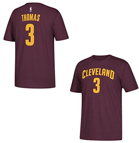 Isaías thomas Cleveland Cavaliers Maroon nombre y número camiseta, Granate