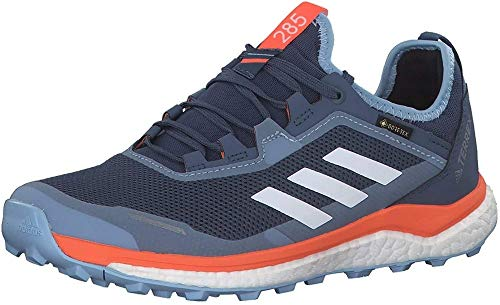 adidas Damen Terrex Agravic Flow Gtx W Cross-Trainer, Blau (Tech Ink/Glow Blue/Hi/Res Coral Tech Ink/Glow Blue/Hi/Res Coral), 40 2/3 EU