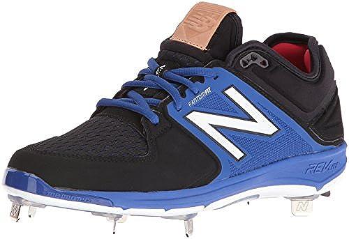 New Balance Men& 039;s l3000v3 Baseball schuhe, schwarz Blau, 10.5 2E US