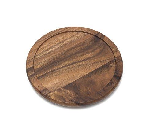 Lipper International Acacia Wood 10  Kitchen Turntable
