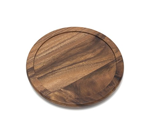 "Lipper International Acacia Wood 10"" Kitchen Turntable"