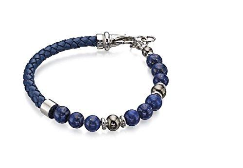 Fred Bennett - Edelstahl Rundschliff blau Lapis Lazuli