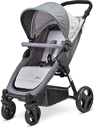 TERO-586 FOUR - Cochecito de bebé, color gris