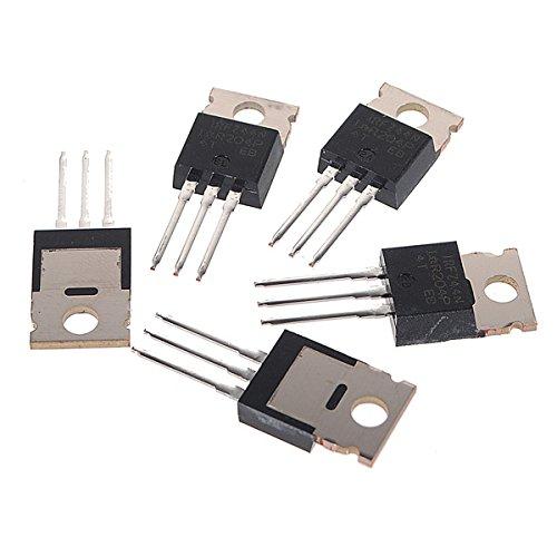 50 piezas IRFZ44N Transistor N-Channel Rectificador Power Mosfet