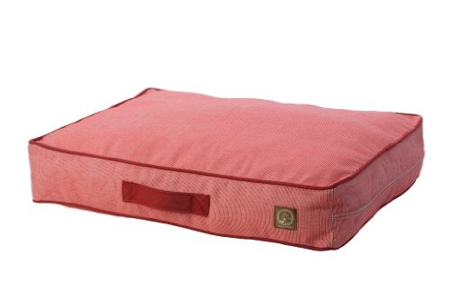 One for Pets Siesta Indoor/Outdoor Pet Bed Dog Bed Duvet Cover, Large, Red