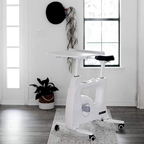 Flexispot V9 Höhenverstellbares Tischfahrrad Schreibtisch, Heimtrainer Bewegungstrainer Pedaltrainer Fitness-Fahrrad...
