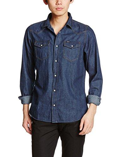 Diesel New-Sonora-E Shirt Camicia di Jeans, Blu (900 Denim 0kany), S Uomo