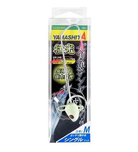 ヤマシタ(YAMASHITA) テンヤ 猛光太刀魚テンヤ 波止 シングル M