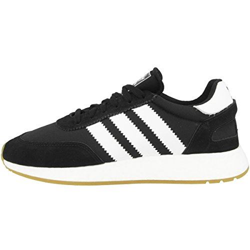 adidas I-5923, Zapatillas Hombre, Negro (Core Black/Footwear White/Gum 0), 44 2/3 EU