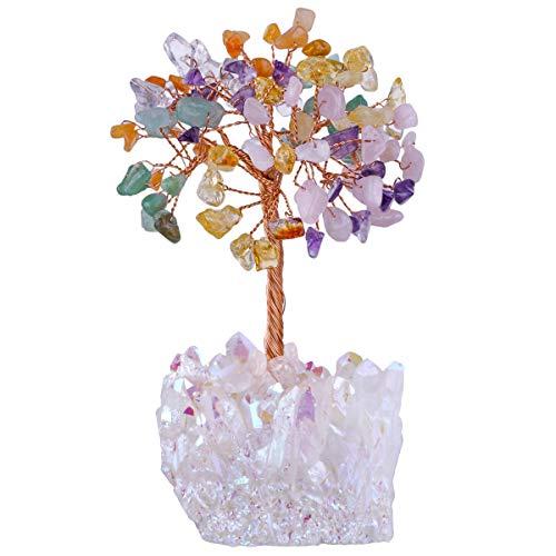mookaitedecor - Árbol de Navidad con Cristal de Abeja Reves