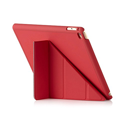 Luxe Pipetto Origami - Funda para Apple iPad Air 2 (soporte de sobremesa), color rojo
