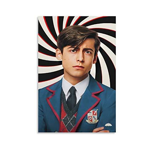 Póster de la película The Umbrella Academy Number Five The Boy Póster decorativo de la lona de la pared del arte de la sala de estar carteles pintura del dormitorio 20x30 pulgadas (50x75cm)