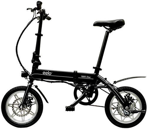 eelo 1885 Disc Bicicleta eléctrica Plegable, portátil y f�