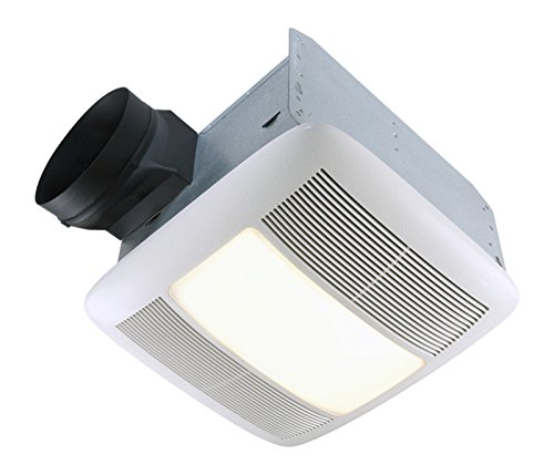 "Nutone QTXEN110FLT Energy Star 110 CFM 6"" Ducting Bathroom Exhaust Fan"