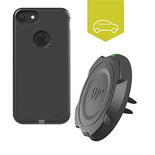 Exelium upm22i7b Apple iPhone 7Plus/6S Plus/6Plus Custodia con Funzione di Ricarica a induzione Nero