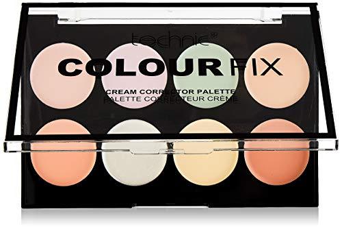 Technic'Colour Fix'-Abdeckcreme-Palette, CC-Creme, 8Farbnuancen