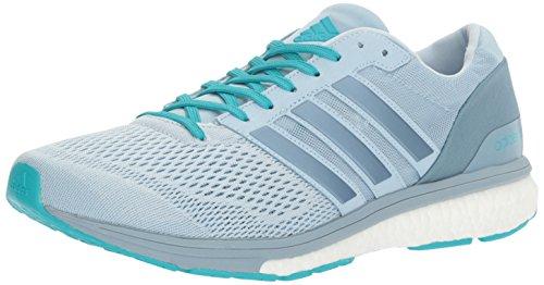 adidas Women's Adizero Boston 6 W Running Shoe, Easy Tactile Energy Blue S, 12 M US