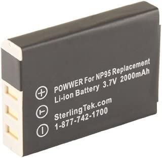 STK's Fuji NP-95 Battery - 2000 mAH for Fujifilm Finepix X100S, X100, F30, X-S1, F31fd, Real 3D W1, NP-95, BC-65