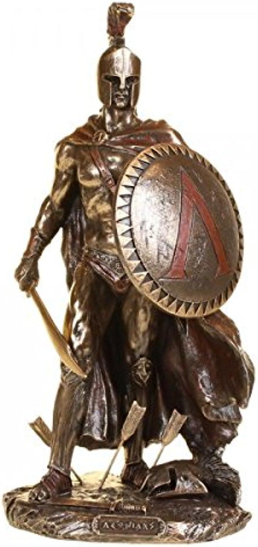 Figur des Leonidas König von Sparta Skulptur Feldherr Agiaden B017J7PI6C