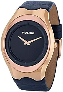Police Casual Watch for Men Leather, P 15435JSR 03