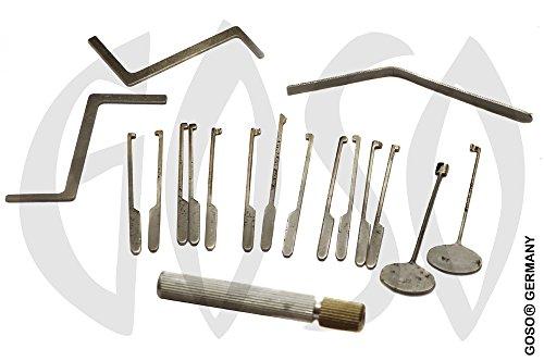 GOSO Öffnungswerkzeug Bohrmulden Pickset 0428