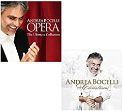 Opera: The Ultimate Collection - My Christmas - Andrea Bocelli Greatest Hits 2 CD Album Bundling