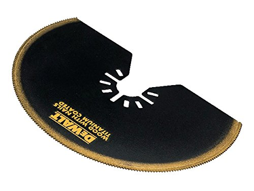 DeWalt Segment - Sägeblatt DT20708-QZ | 102 mm | Titan beschichtet | für Multi-Tool