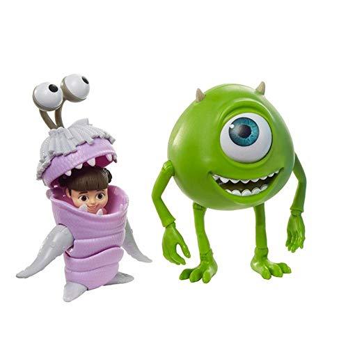 Figuras Disney Pixar Mike Wazoswki e Boo Monstros Sa -mattel