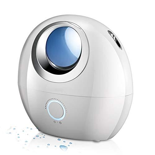ZQY Silent Air ultrasone luchtbevochtiger met automatische uitschakelbeveiliging, etherische oliediffuser met led-nachtlampje, luchtbevochtiger slaapkamer/kantoor/woonkamer, luchtbevochtiger