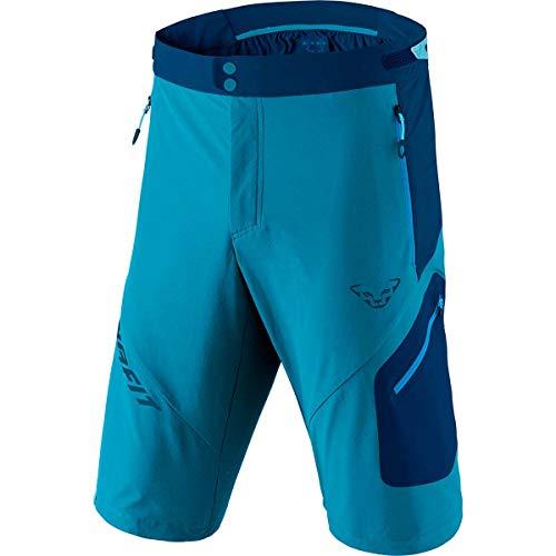 DYNAFIT M Transalper 3 Dynastretch Shorts Colorblock-Blau, Herren Shorts, Größe L - Farbe Mykonos Blue