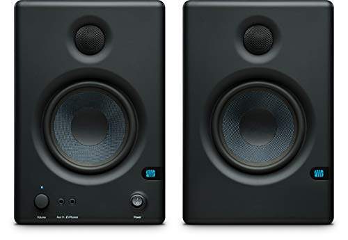PreSonus Eris E4.5 4.5-inch, 2-way, High-Definition Active Studio Monitors (Pair),Black