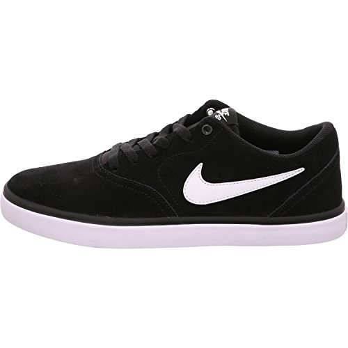 Nike SB Check Solarsoft, Sneaker Uomo, Black White, 42 EU