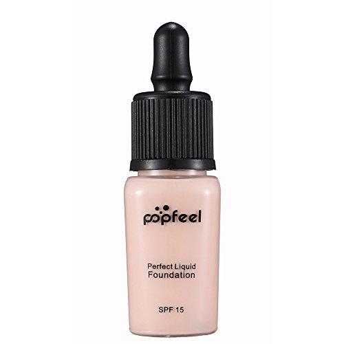 LQQSTORE Concealer Flawless Make-up Concealer POPFEEL Make Up Liquid Foundation Feuchtigkeitsspendender Concealer BB Cream