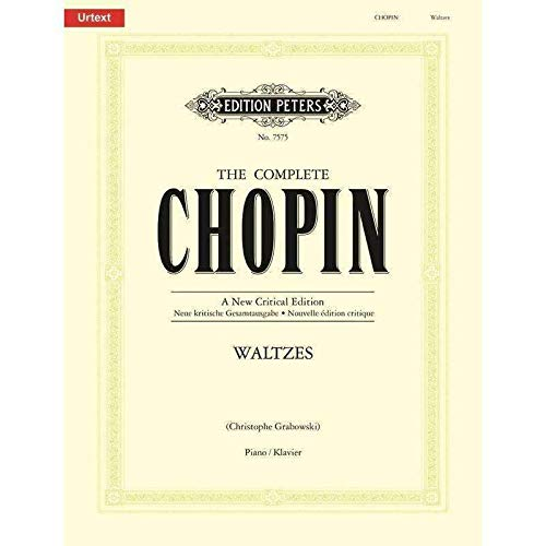Edition Peters Chopin Waltzes for Piano
