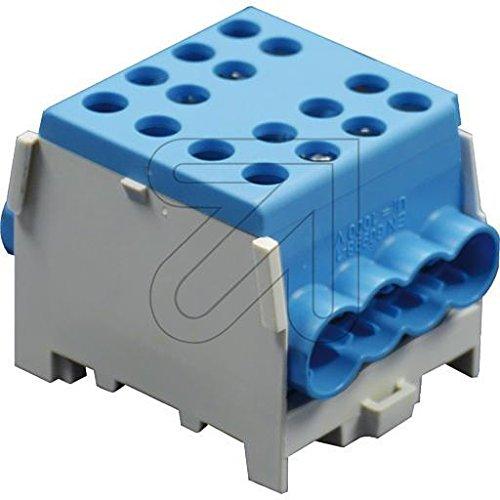 Pollmann Hauptleitungs-Abzweigklemmen HLAK 35-1/6 M2 blau