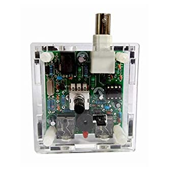 Abovehill S-Pixie CW QRP Transceiver Telegraph Shortwave Radio Radio 7.023Mhz 40 Meter+Case Assembled