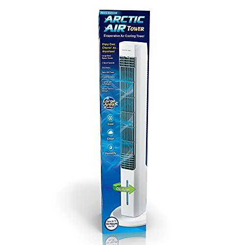 Ontel Arctic Air Evaporative Portable Room Cooling Tower con 3 velocità oscillante ventilatore