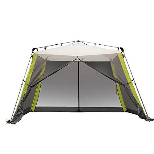 APENCHREN Tenda da Sole per Tenda da Sole/Capanno da Giardino Grande, applicabile a 5-8 Persone - per Campeggio, all'aperto e Barbecue (3x3x2.1m / 9.8x9.8x6.8ft),Green
