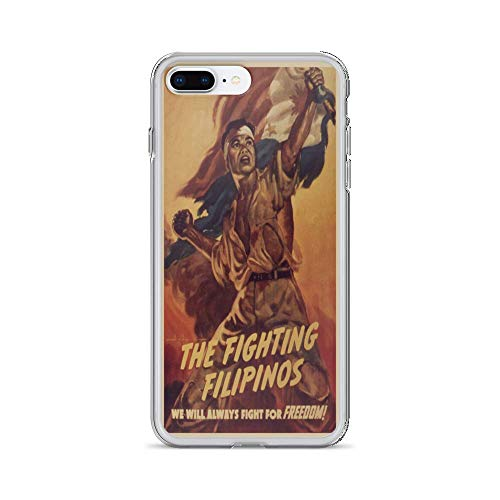 Vintage Poster - The Fighting Filipinos 1215 - iPhone 8 Plus Phone Case