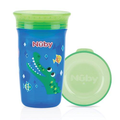 Nûby ID10411 Wonder Cup, 6 Monate, 300 ml, blau