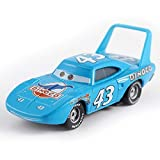 Sconosciuto Generic Disney Cars Disney Pixar Cars No.43 Race Team The King Metal Diecast Toy Car 1:55 Loose in Stock Disney Cars2 And Cars3 05