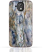 HTC Desire 526 G Plus TPU Silicone Case With Marble texture 1101 Design.