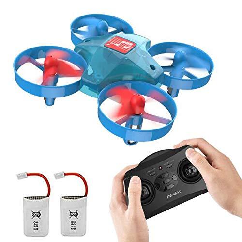 Abstract Mini Drone Musical para niños para niños Equipado con Control fácil 3D Flip de 2.4Ghz 7 Tipos de Luces LED de música adecuadas para niños, Adolescentes, Adultos y Principiantes